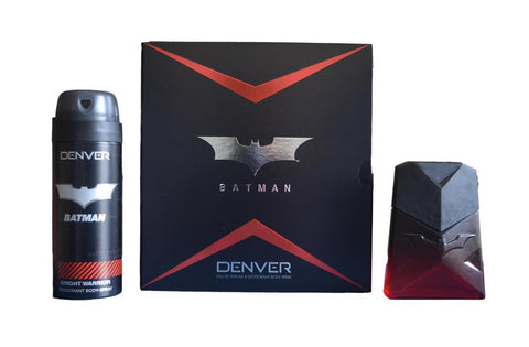 Denver Batman Knight Warrior Gift Set Perfume 60ML and Deo 150ML
