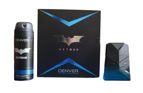 Denver Batman Urban Legend Gift Set Perfume 60ML and Deo 150ML