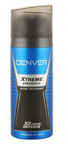 Denver Xtreme Endurance Active Deodorant X2 Sweat Defence 150ML