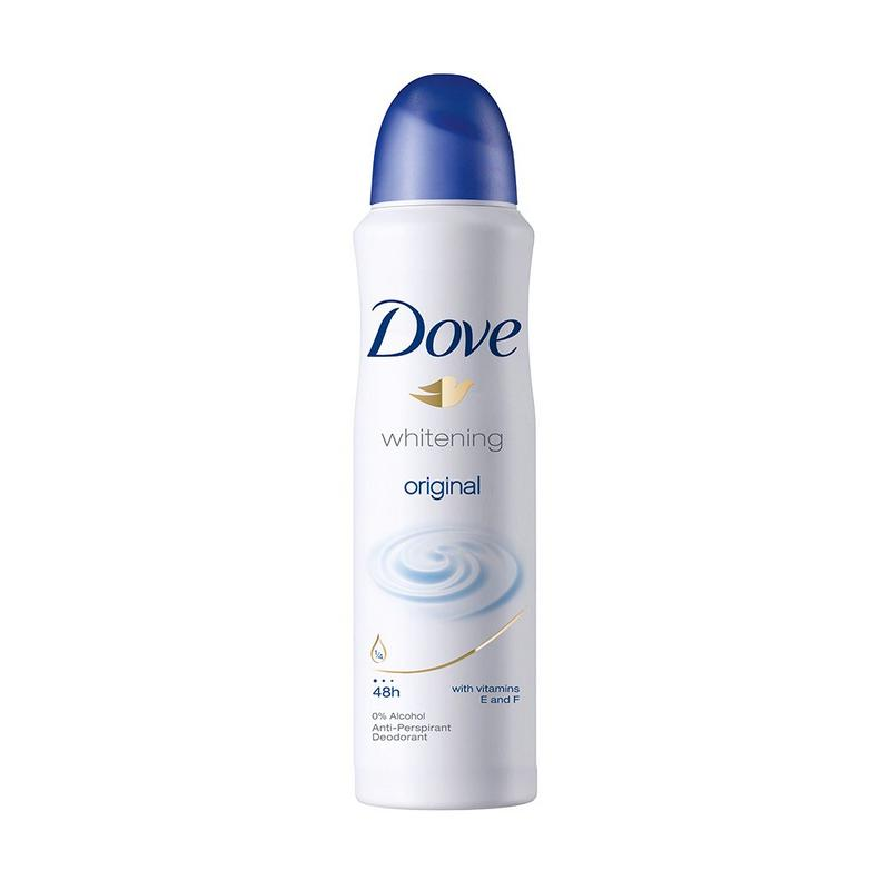 DOVE - Buy Dove Whitening Original Antiperspirant 150ML Online in India.