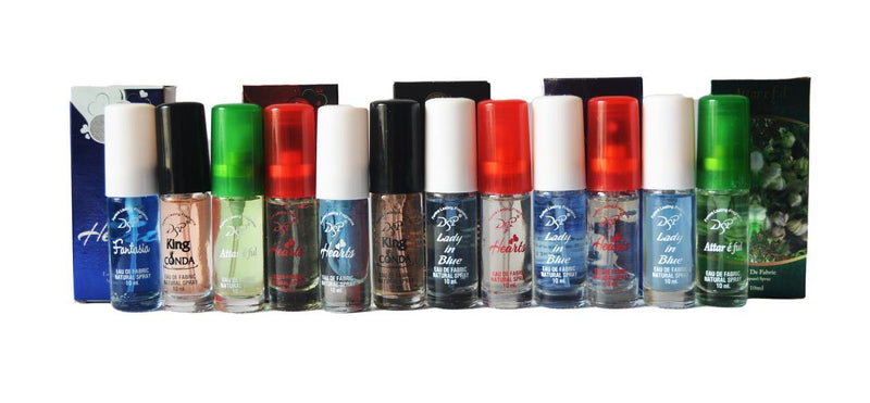 DSP - Buy Exclusive  DSP Assorted Pocket Perfume 12 Pieces Online in India.