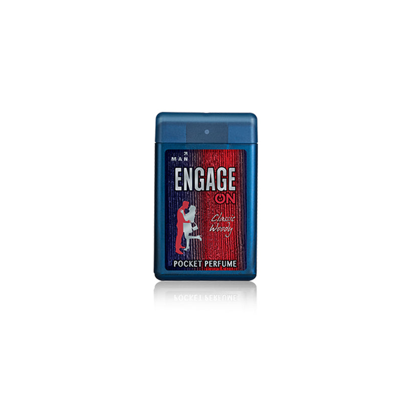 Shop Engage On Classic Woody Pocket Perfume 18ML