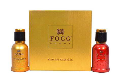 Fogg The Chief and The Commander Gift Set for Men & Women (50ML Each) 100ML