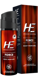 HE - Buy HE Advanced Grooming Force Body Perfume 120ML Online in India.