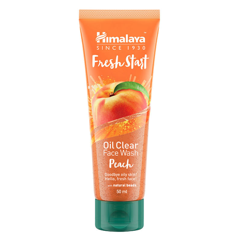 Himalaya Face Wash - Buy Himalaya Fresh Start Oil Clear Peach Face Wash 100ML Online in India.