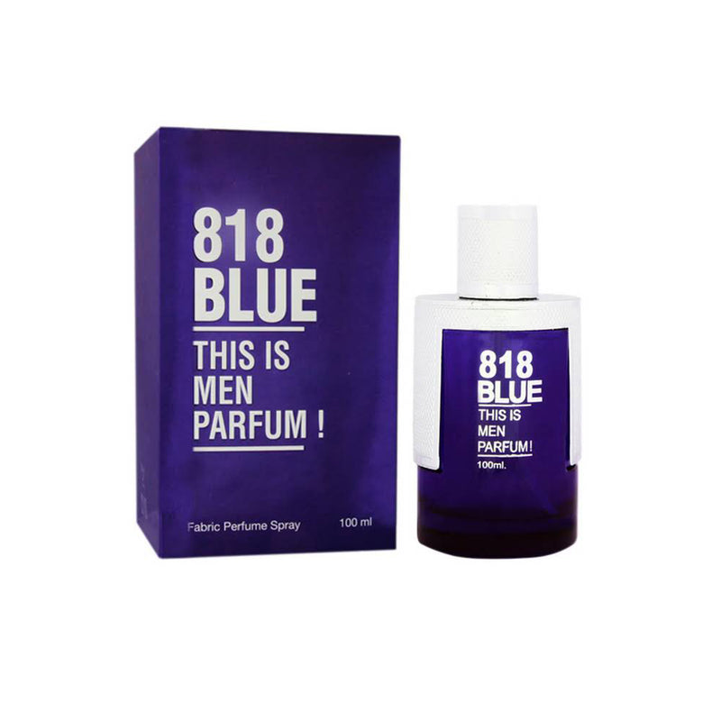 Shop HP 818 Blue Perfume for Men 100ML