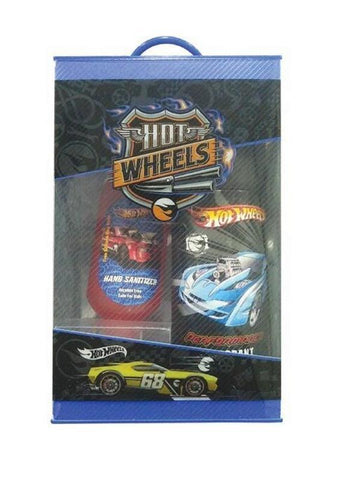 BelleGirl Hot Wheels Deodorant 150ML and Hand Sanitizer 50ML Gift Set