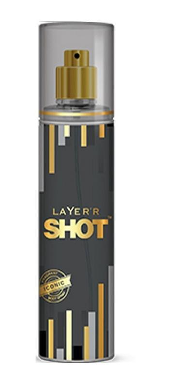 LAYER'R - Buy Layerr Shot Gold Series Iconic Perfume Body Spray 135ML for Men Online in India.