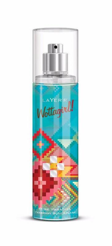 LAYER'R - Buy Layerr Wottagirl Pure Paradise Perfume Body Spray 135ML for Women Online in India.