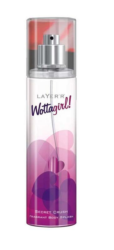 Shop Layerr Wottagirl Secret Crush Perfume Body Spray 135ML for Women