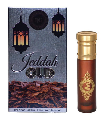 Madni Perfumes Jeddah Oud Economic Series  Attar / Ittar 8ml