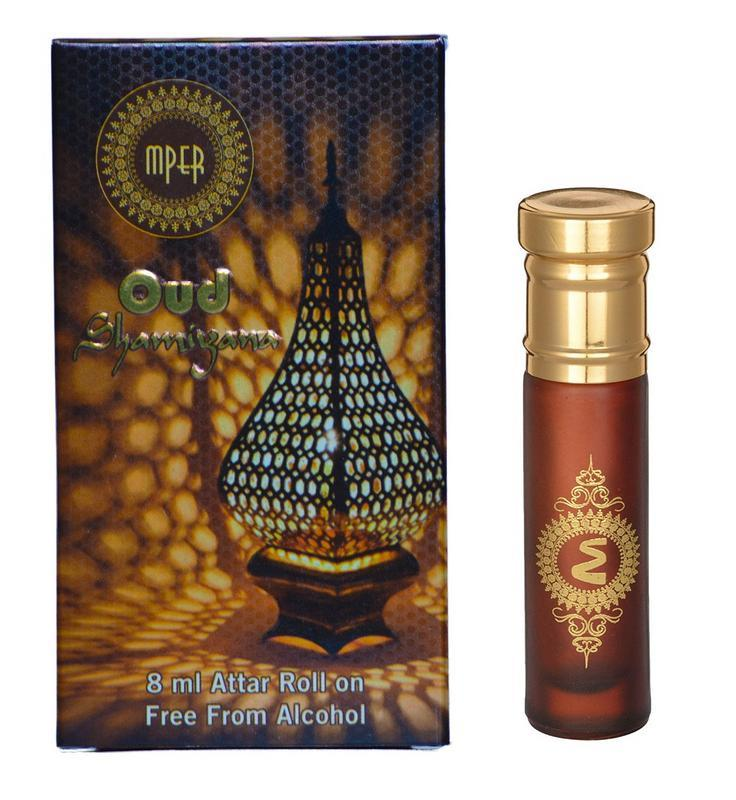 MADNI - Buy Madni Oud Shamiyana Economic Series Attar / Oud Ittar 8ML Online in India.