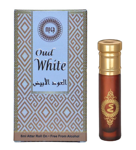 Madni Perfumes Oud White Economic Series  Attar / Ittar 8ml