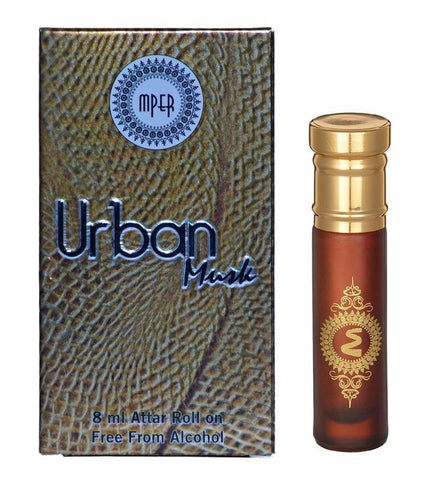 Madni Perfumes Urban Musk Economic Series  Attar / Ittar 8ml