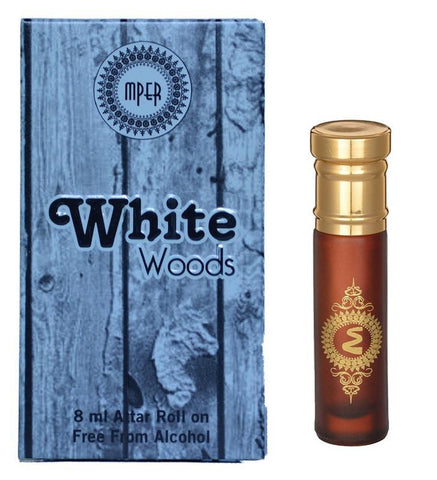 Madni Perfumes White Woods Economic Series  Attar / Ittar 8ml