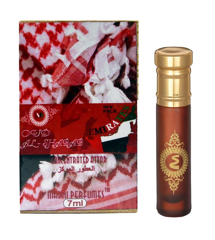 Shop Madni Oud Al-Shabab Series Attar / Oud Ittar 7ML