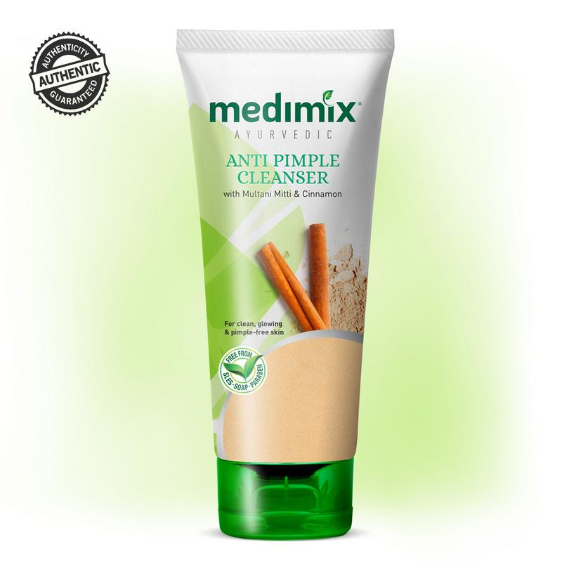 MEDIMIX Face Wash - Buy Medimix Anti Pimple Cleanser Face Wash 100ML Online in India.