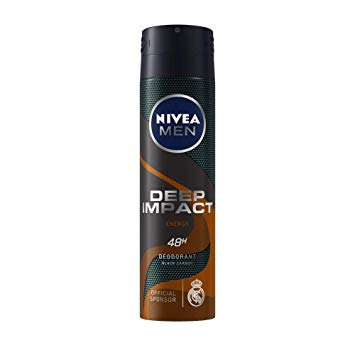 NIVEA - Buy Nivea Men Deep Impact Energy Deo 150ML Online in India.