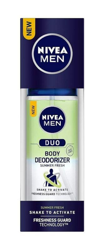 Shop Nivea Men Duo Summer Fresh Body Deodorizer 100ML