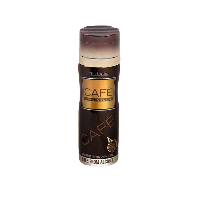 Shop Al-Nuaim Café No Alcohol Deodorant 200ML