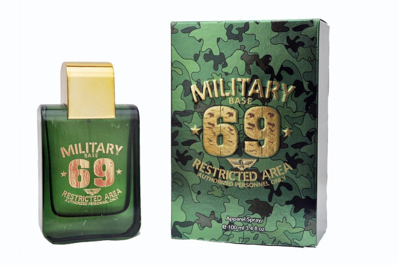 Shop Perfume King Military 69 Green Perfume 100ML