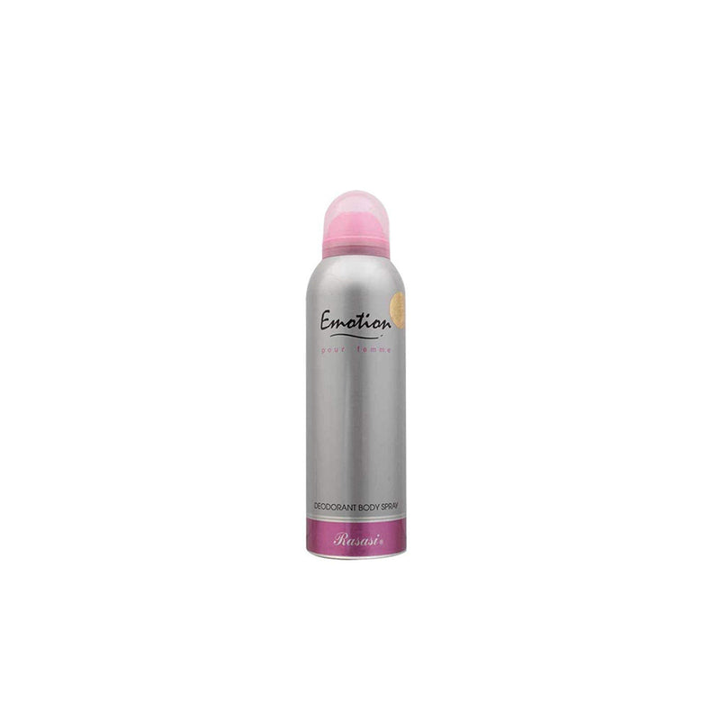 Shop Rasasi Emotion Deodorant Spray 200ML For Women