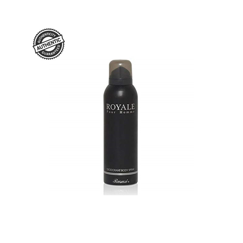 RASASI Deodorant - Buy Rasasi Royale Pour Homme Deodorant Spray 200ML Online in India.