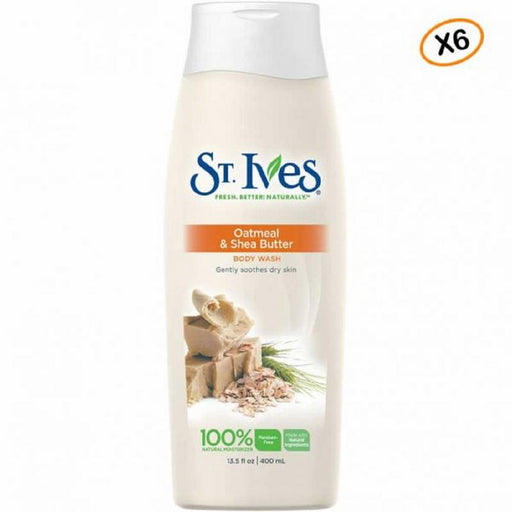 ST. IVES Soothing Oatmeal And Shea Butter Body Wash 400ML