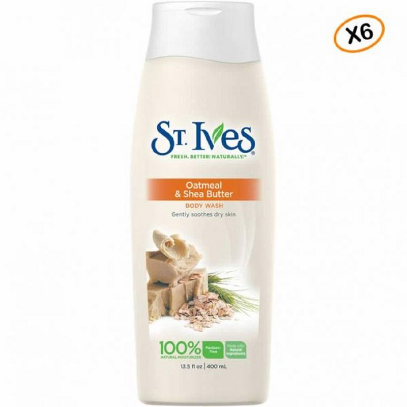 Shop ST. IVES Soothing Oatmeal And Shea Butter Body Wash 400ML