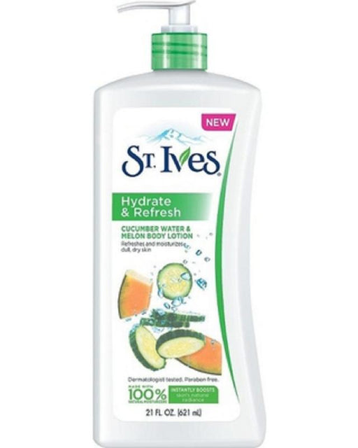 ST. IVES Refreshing Cucumber Water And Melon Body Lotion 621ML