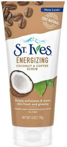 St. Ives Energizing Coconut and Coffee Scrub 170ML