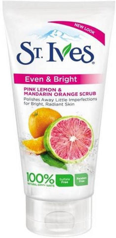 St. Ives Radiant Skin Pink Lemon And Mandarin Orange Scrub 170ML