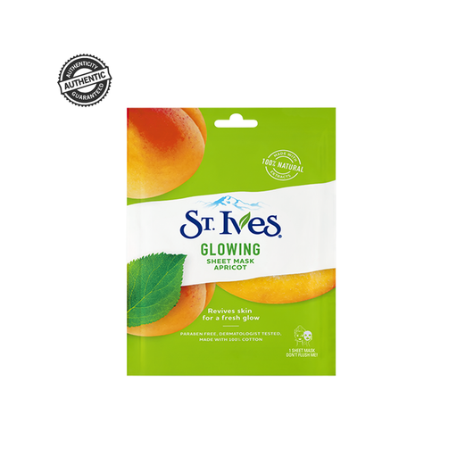 ST. IVES Glowing Apricot Sheet Mask