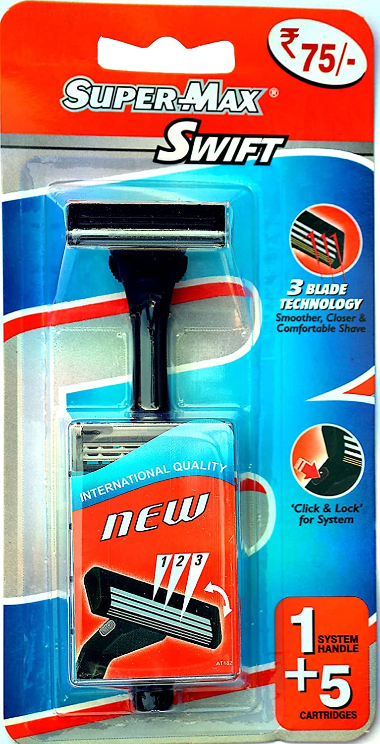 SUPERMAX - Buy SuperMax Swift Triple Blade Razor Online in India.