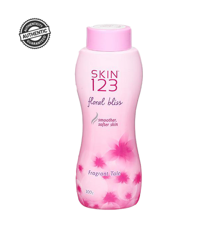 Skin 123 Floral Bliss Fragrant Talcum Powder 300gm