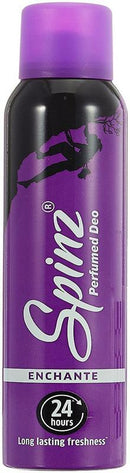 SPINZ Deodorant - Buy Spinz Enchante Deo 150ML For Women Online in India.