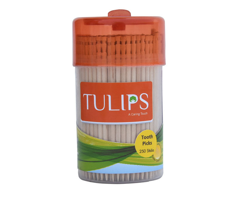 TULIPS - Buy Tulips Wooden Toothpicks in a Jar - 250 Pcs Online in India.