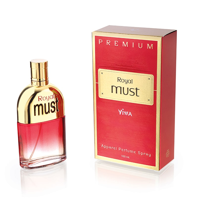 Buy Viwa Royal Must Red Perfume 100ML Online in India.