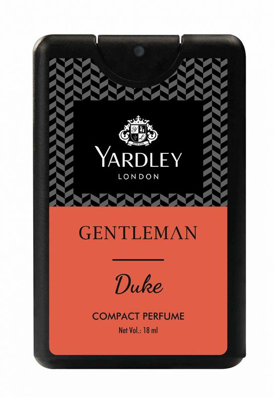 Shop Yardley London Gentleman Duke Compact Perfume 18ML