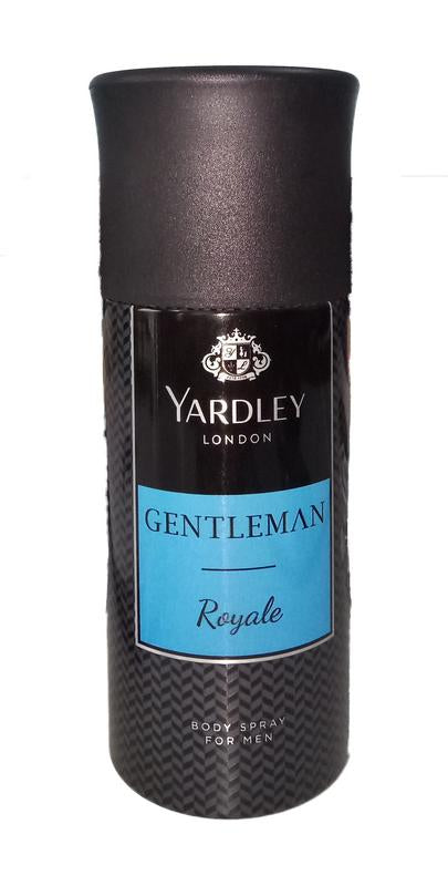 Yardley London Gentleman Royale Body Spray for men 150ML  (Upto 10% OFF) Online in India