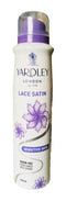 YARDLEY LONDON - Buy Yardley London Lace Satin Sensitive Skin Alcohol Free Perfumed Deo Spray 150ML Online in India.