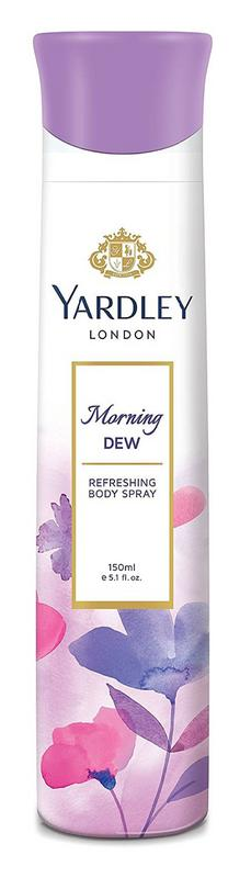 Shop Yardley London Women Morning Dew Deodorant 150ML