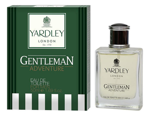 Yardley London Gentleman Adventure EDT Perfume for men 50ML  (Upto 30% OFF) Online in India