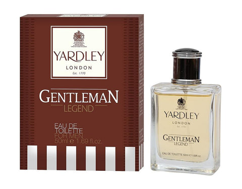 Yardley London Gentleman Legend EDT Perfume 50ML