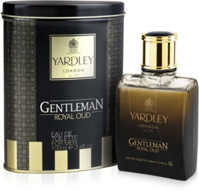 Shop Yardley London Gentleman Royal Oud Eau de Toilette For Men 100ML