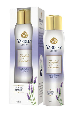 Yardley London English Lavender EDT Body Spray for Women 120ML