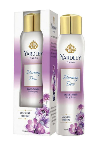 Yardley London Morning Dew EDT Body Spray for Women 120ML