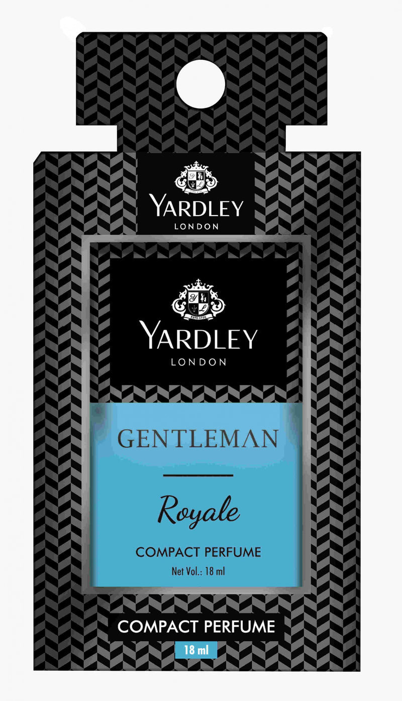Yardley London Gentleman Royale Compact Perfume 18ml (Upto 10% OFF) Online in India