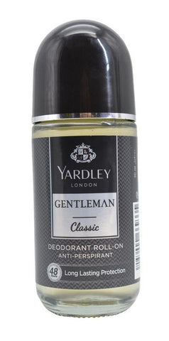 Yardley London Gentleman Classic Deodorant Roll-On Alcohol Free 50ML