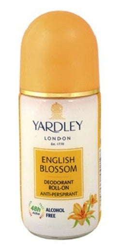 Yardley London English Blossom Deodorant Roll On Alcohol Free for women 50ML  (Upto 10% OFF) Online in India